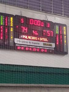 Palmeiras teve 5 jogadores pontuando com dígitos duplos.