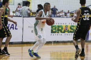Yago foi o cestinha do jogo do Palmeiras, com 13 pontos (Foto: João Neto/LNB)