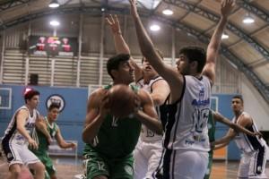 Lázaro, do Palmeiras, se destacou, mais uma vez nos rebotes (Foto João Neto/LNB)