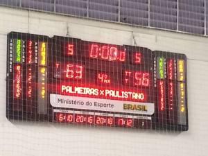Com o resultado, estamos a um jogo da final (Foto: Solange Paes)