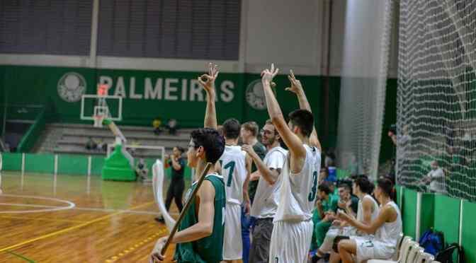 Arrasador, Palmeiras estreia com vitória pelo Sub 19
